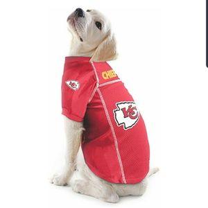 Kansas City Chiefs Dog Jersey XL